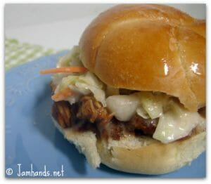 Pulled Pork with Root Beer BBQ Sauce
