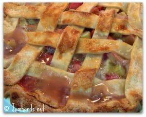 Simple Rhubarb Pie