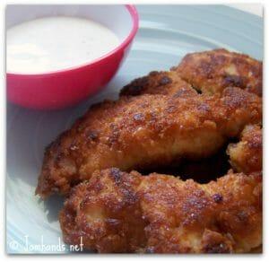 Ritzy Chicken Nuggets