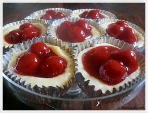 Cherry Cream Cheese Tarts