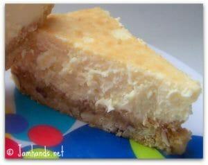 Limoncello Cheesecake Squares