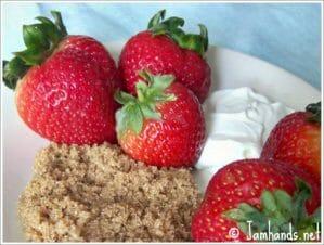 Deconstructed Strawberries Romanov