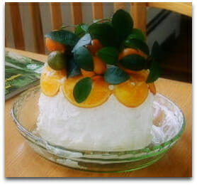 The Amazing Citrus Wedding Cake