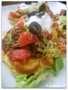 Flat Bread Taco Supreme