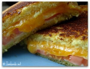 Chloe's Grilled Tomato and Cheese Sandwich