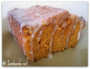 Moist Ginger Pumpkin Bread