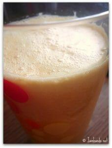 Peach Sunshine Juice