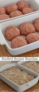Stuffed Burger Bundles
