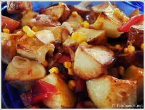Roasted Potato & Vegetable Potato Salad