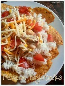 Mexican Chicken Haystacks