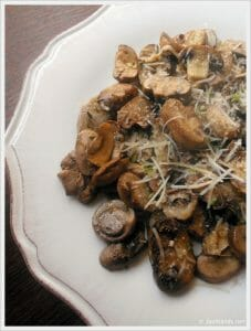 Baked Lemon and Thyme Mushrooms