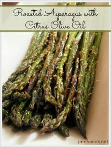 Roasted Asparagus with Citrus Olive Oil
