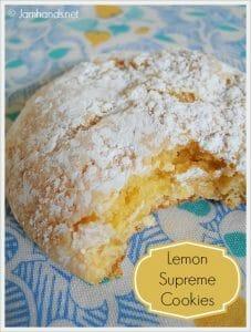 Lemon Supreme Cookies