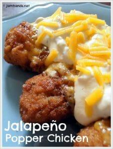 Jalapeño Popper Chicken