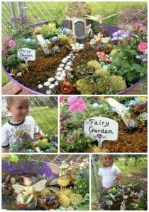 Fairy Gardens & Vegetable Gardens