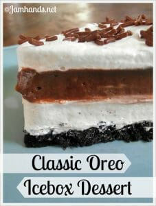 Classic Oreo Icebox Dessert