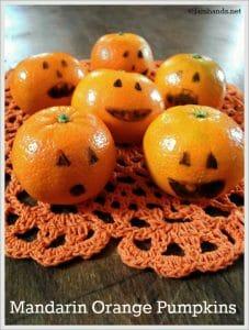 Lunchbox Mandarin Orange Pumpkins