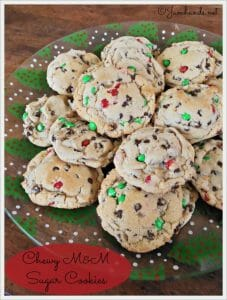 Perfect M&M Pudding Cookies