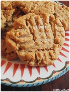 Browned Butter Peanut Butter Cookies