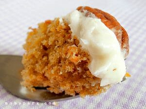 Mini Carrot Pineapple Cake