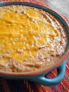 Salsa Refried Beans