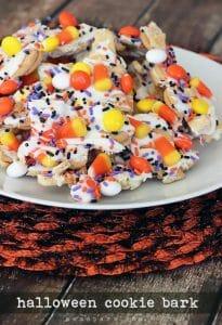 Halloween Cookie Bark