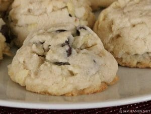 Tender Chocolate & Potato Chip Cookies