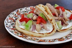 Simple Chicken Gyros – 20 Minute Meal