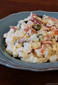 Sweet Pickle & Bacon Potato Salad