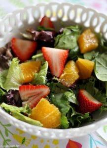 Strawberry and Citrus Salad with Orange Vinaigrette