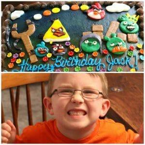 Angry Birds 6th Birthday Party + Menu