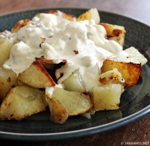Rocky Mountain Gorgonzola Potatoes