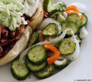 Pickled Cucumber Salad