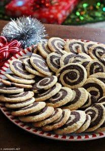 Chocolate Pinwheel Cookies II