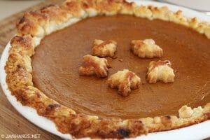 Secret Ingredient Ultra Smooth Pumpkin Pie