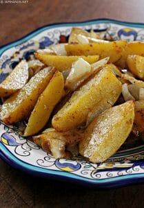 Roasted Cajun Potato Wedges