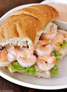 Zesty Shrimp Po Boys