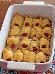Sweet Sausage Rolls