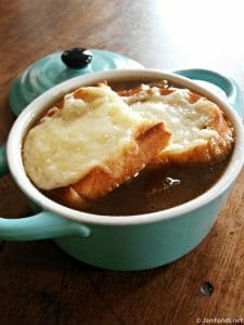 French Onion Soup with Gruyere