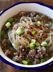 Spicy Beef Ramen (Keto/Low Carb)