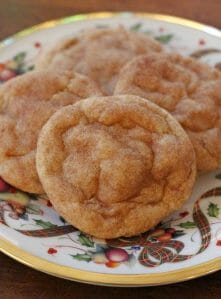 Simply the Best Snickerdoodles