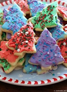 Soft and Thick Cut-Out Sugar Cookies