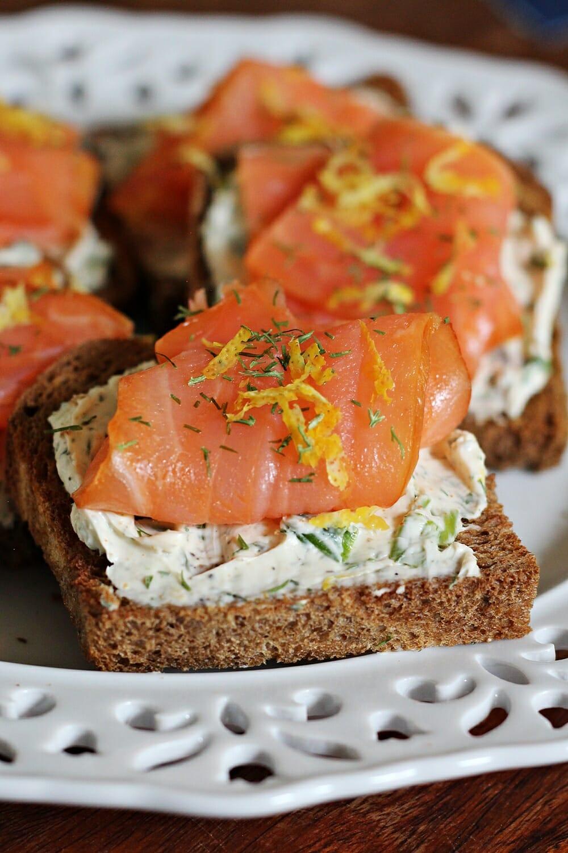 Lemon-Herb Salmon Bites