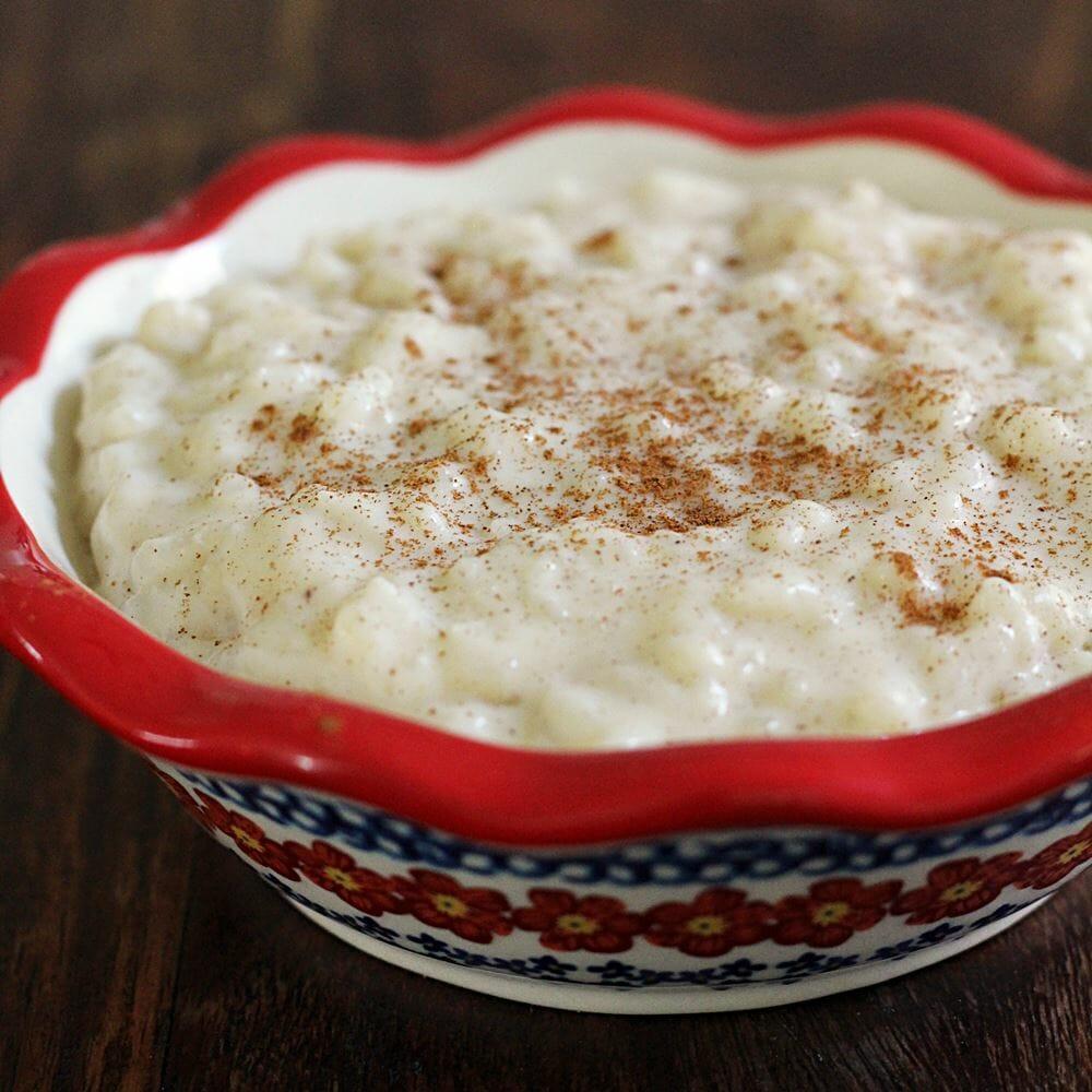 Creamy Stovetop Rice Pudding