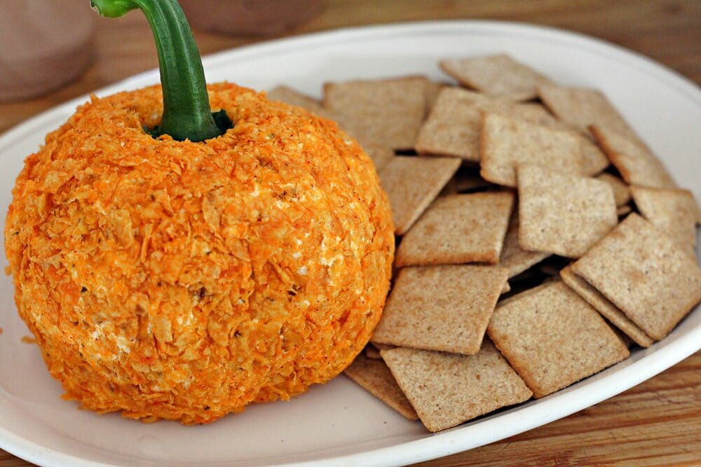 Doritos Cheeseball (Pumpkin Shaped)